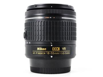 Rent: Nikon AF-P 18-55mm f/3.5-5.6G DX VR