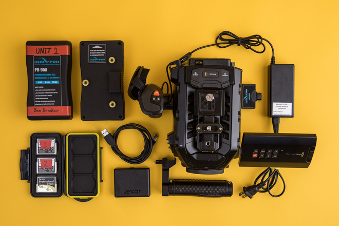 Blackmagic URSA Mini 4k EF Package (Ready to shoot)