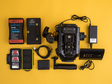 Rent: Blackmagic URSA Mini 4k EF Package (Ready to shoot)