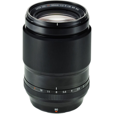 Fuji 90mm f/2 R LM WR Lens