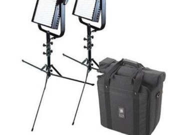 Rent: (x3) Kino Flo 4-ft 4-Bank and (x2) 1x1 litepanels