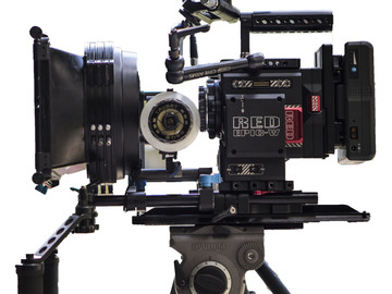 Rent: RED Helium 8K COMPLETE KIT -  Cinema Lenses and Monitors