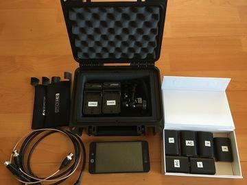 Rent: SmallHD 502 kit + Hood + 10 batteries