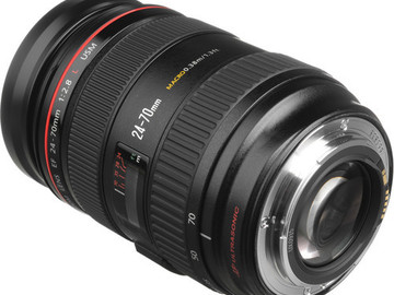 Rent: Canon Zoom Wide Angle-Telephoto EF 24-70mm f/2.8L USM Autofo