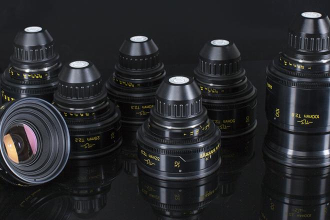 Cooke Speed Panchro Set TLS 4 lenses Rehoused custom listing