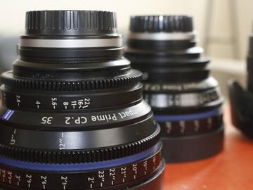 EF Cinema Lens Set