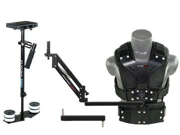 Rent: Flycam 5000 with comfort arm and vest