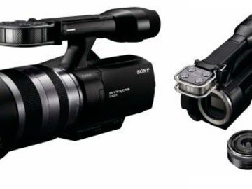 Rent: Sony NEX VG-10 HD camcorder with kit lenses