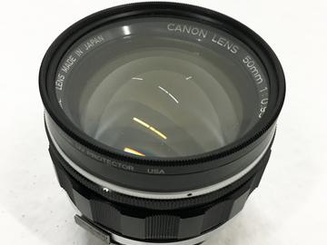 """RARE Vintage Canon 50mm Prime f/0.95 """"Dream Lens"""""""
