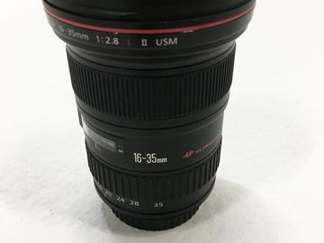 Wide Angle 16-35mm EF L II USM Canon Lens