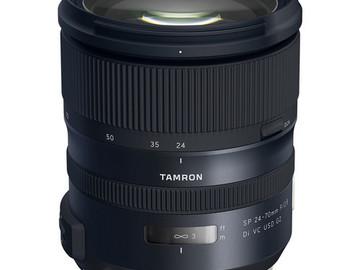 Rent:  Tamron 24-70mm lens