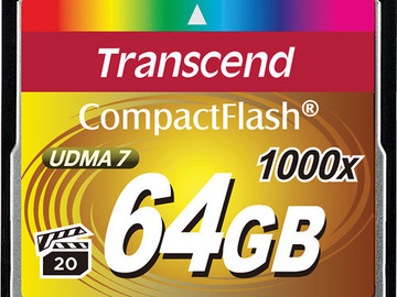 Rent:  1000x 64GB Compact Flash memory card