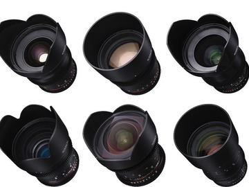Rent: Rokinon Cine DS 6 Lens Set for Canon EF
