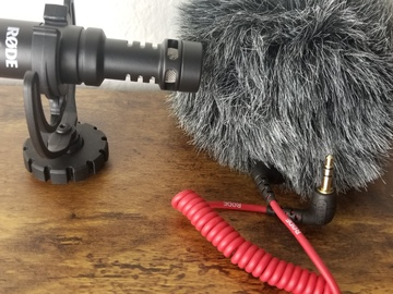 Rent: Rode VideoMicro Compact On-Camera Microphone