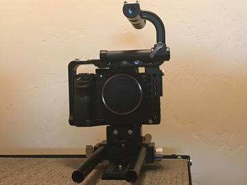 Rent: Sony Alpha a7S II w/ cage & Nikon adapter