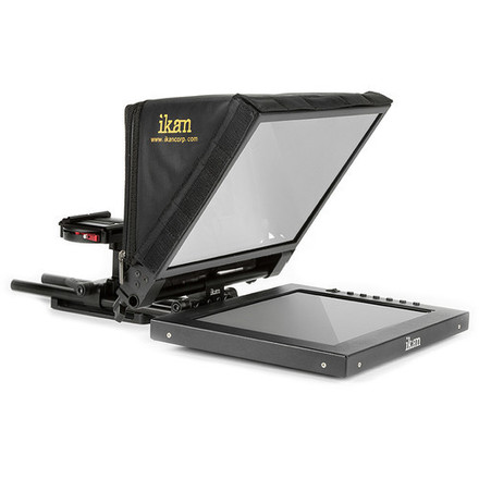 """ikan PT1200 12"""" Portable Teleprompter Kit WITH Monitor"""