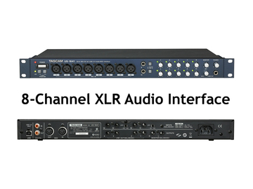 Rent: Tascam 8-Channel Audio Interface XLR