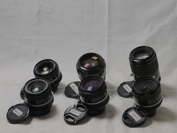 Rent: Set of Nikon Ai Lenses
