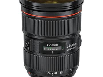 Rent: Canon EF 24-70mm f/2.8L II USM Lens (1 of 4)