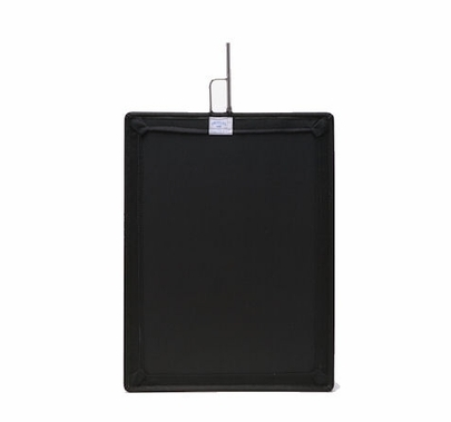 """(2) 24""""x36"""" Black Solid Flags & Bags"""