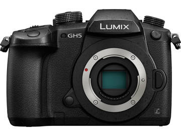 Rent: Panasonic Lumix DC-GH5 w/ 4 Batteries & V-Log