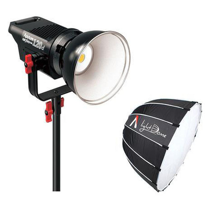 Aputure 120D + Light Dome + C-Stand
