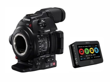 Rent: Canon EOS C100 Cinema Camera + Atomos Ninja 2
