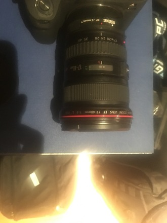 Canon 17-40 mm lens