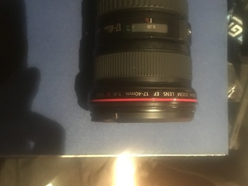 Rent: Canon 17-40 mm lens