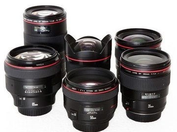 Rent: Canon L Series Lens Set