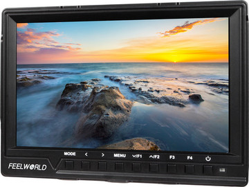 """Rent: FeelWorld 7"""" On-Camera LCD Monitor"""