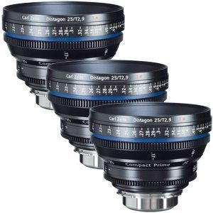 Zeiss CP.2 Super Speed Set of 3
