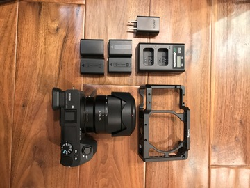 Rent: Sony  Alpha a6500 Mirrorless Camera 16-70 Zeiss w/batteries