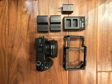 Rent: Sony  Alpha a6500 Mirrorless Camera Metabones IV EF Adaptor