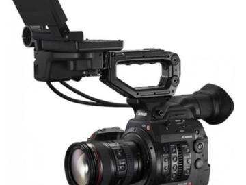 Rent: Canon EOS C300 Mark II Cinema Camera EF mount & shoulder rig
