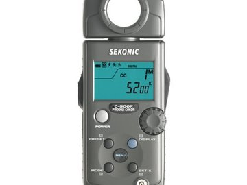 Rent: Sekonic Prodigi Color C-500R - Features