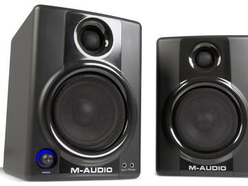 Rent: M-Audio Studiophile AV40 Studio Monitor Speakers