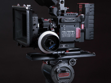 Rent: RED Epic-W Helium 8K S35 Complete Package With AKS & Lenses