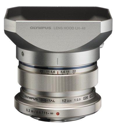 Olympus M. Zuiko Digital ED 12mm f/2.0 Lens for Micro 4/3