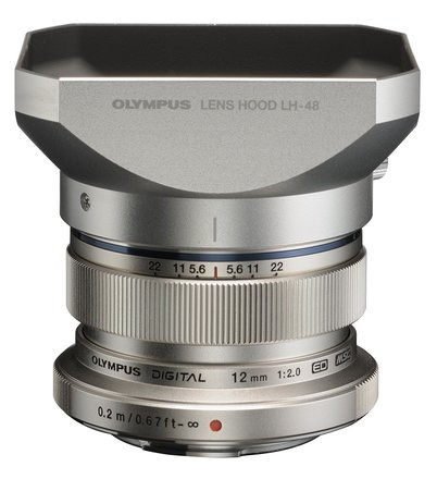 Olympus M. Zuiko Digital ED 12mm f/2.0 Lens for Micro 4/3