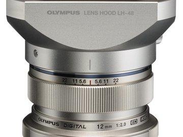 Rent: Olympus M. Zuiko Digital ED 12mm f/2.0 Lens for Micro 4/3
