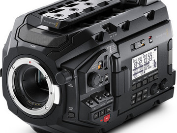 Rent: Blackmagic URSA mini pro + Matte box, SSD, Rigging and rail