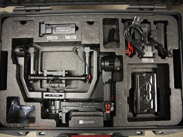 Rent: DJI Ronin 3-Axis Gimbal Stabilizer with Two Batteries