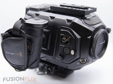 Blackmagic URSA Mini Pro with CFast Cards and FOUR Batteries