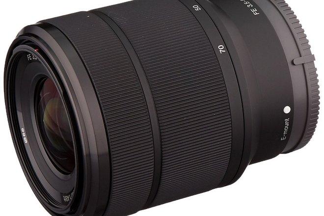 Sony 24-70mm F3.5-5.6 FE OSS Interchangeable Standard Zoom L