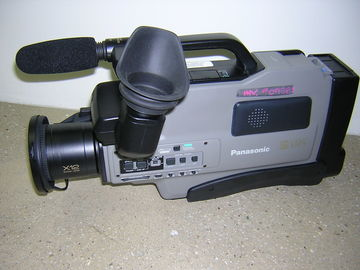 Rent: Panasonic S-VHS AG-455 Reporter Analog Camcorder