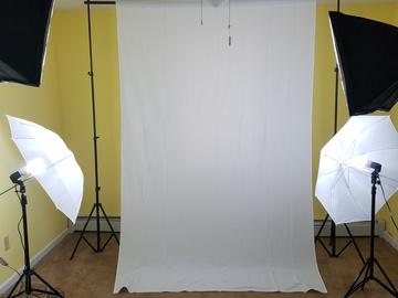 Rent: Three Point Lighting Set