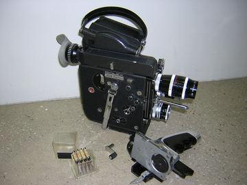 Rent: Bolex 16mm  Bolex H-16 Rex 5 with 3 prime lenses