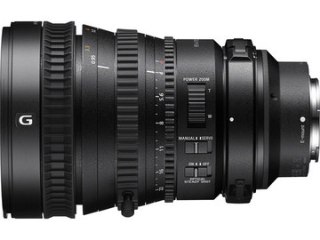 Rent: Sony 28-135mm T4 Zoom Lens (powered zoom)