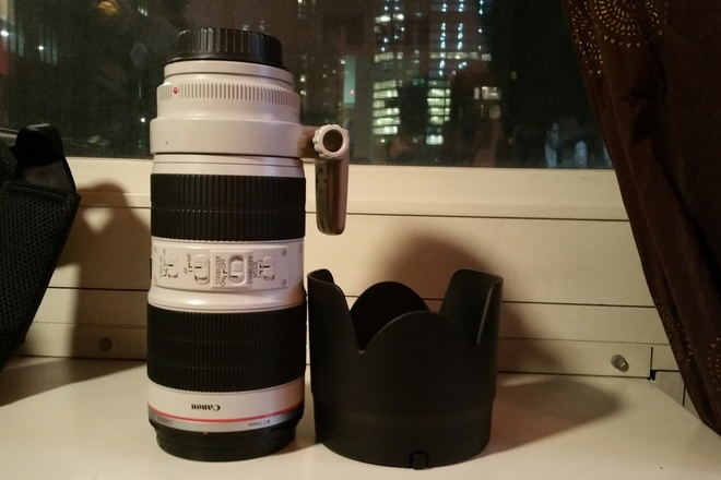 Canon 70-200 mm f/2.8 L II IS USM